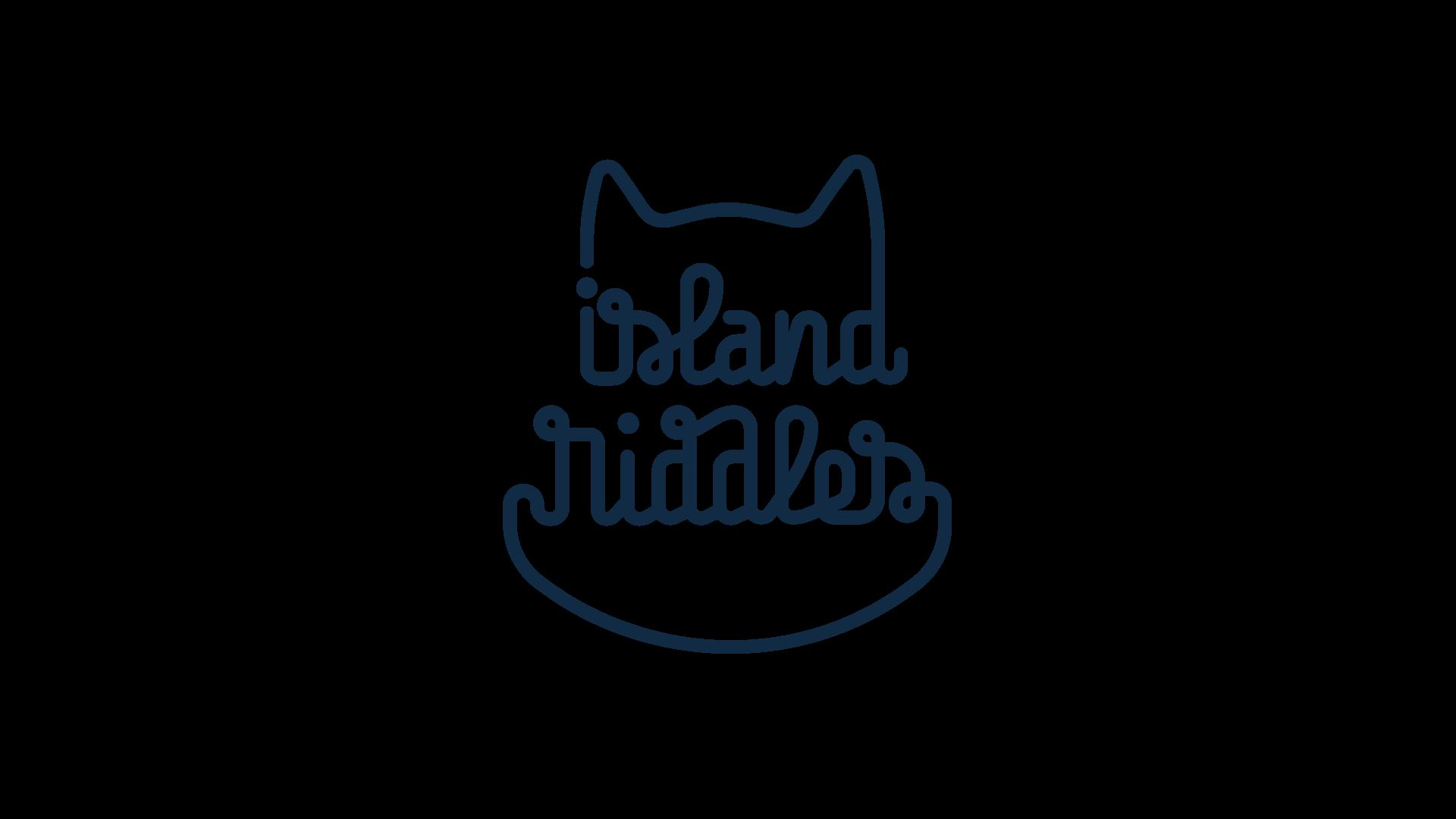 IslandRiddles_tunnus_sininen_v001